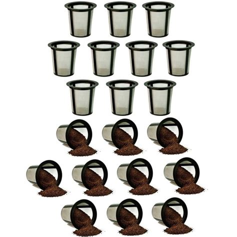 Don't whether you should keep buying paper or go for permanent? Refillable Baskets My K-cup Replacement Reusable Coffee Filter Keurig 20-Packs - Walmart.com ...