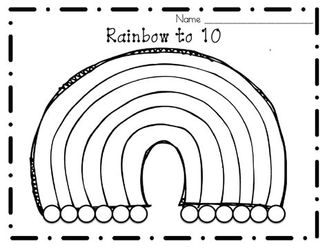 Ways To Make 5 And 10rainbows Of Fun!  Littlest Scholars