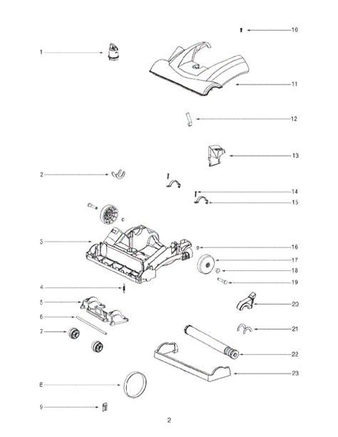 Eureka 2961avz Vacuum Parts
