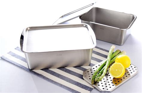 stainless steel kitchen storage containers food storage oven gastronorm cookware stainless steel 8280