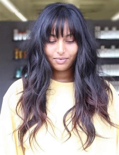 Black Hairstyles With Bangs And Layers by 5 Black Hairstyles With Bangs And Layers