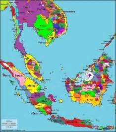 Southeast Asia Language Map