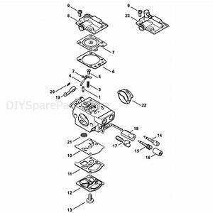Wiring Diagram  11 Stihl Ms 251 Parts Diagram