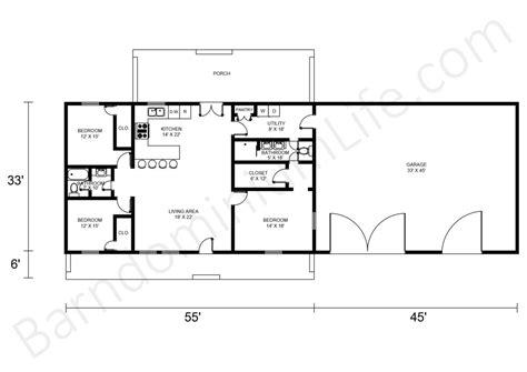 greenbrush barndominium house plan