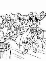 Coloring Pirates Caribbean Pages Cartoon Recommended Cartoons Mycoloring sketch template