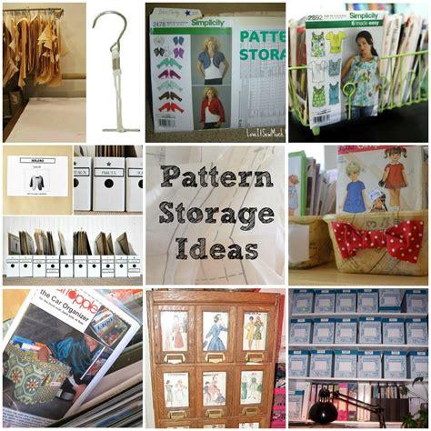 Sewing Pattern Storage On Pinterest  Vintage Sewing
