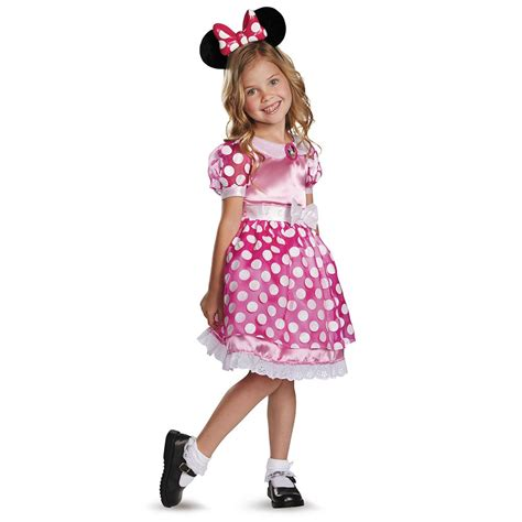 Disney Pink Minnie Mouse Lightup Motion Activated Toddler