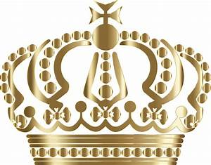Clipart - Gold German Imperial Crown No Background
