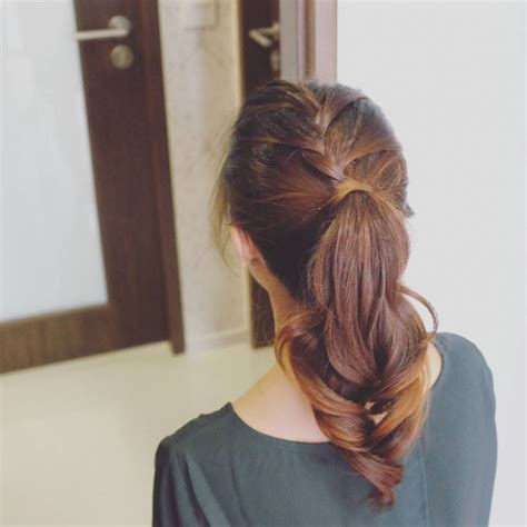 french ponytail hairdo ideas designs design trends