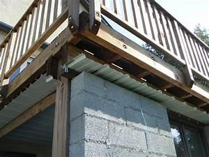 terrasse bois etanche bac acier ly63 jornalagora With construire une terrasse en bois sur pilotis