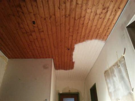 Holzdecke Weiß Streichen › Direkt Vom Handy › Holzdecke, Weiß