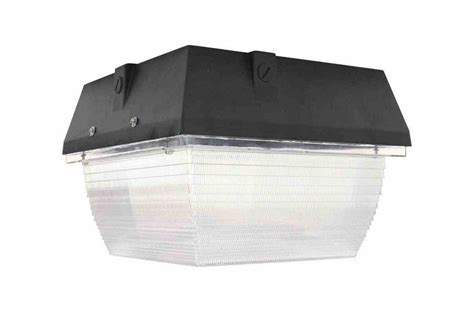 Led Canopy Light Fixtures by 40 Watt Traditional Led Canopy Light Replaces 100 Watt