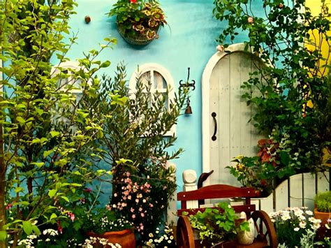 Cottage Garden Wallpaper, Cottage Garden Pictures Rebsays