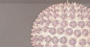 Origami Lampe Kaufen : glamourisious diy design origami lampe fashion kitchen ~ Markanthonyermac.com Haus und Dekorationen