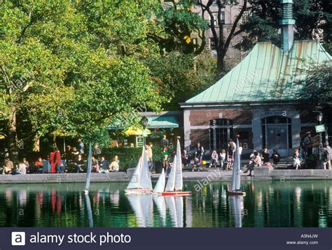 Central Park Boat Club by New York City Central Park Boat Pond Conservatory Water