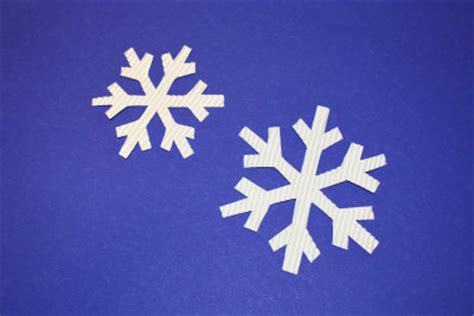 schneeflocken basteln kinderspiele weltde