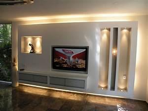 Tv Wand Selber Bauen Rigips :  ~ One.caynefoto.club Haus und Dekorationen