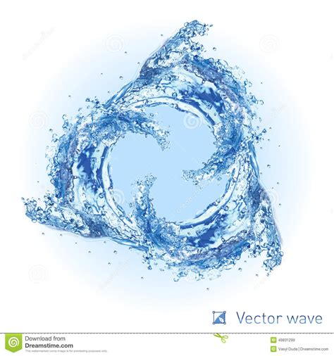 water designs cool water wave stock vector illustration of flowing 49831299
