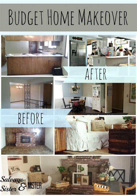 budget home makeover tips easy home decor trendy home