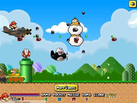 jeux de mario cuisine jouer à mario airship battle gratuitement jeux flash