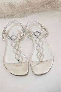 Flat Wedding Sandals Gallery - Wedding Dress, Decoration