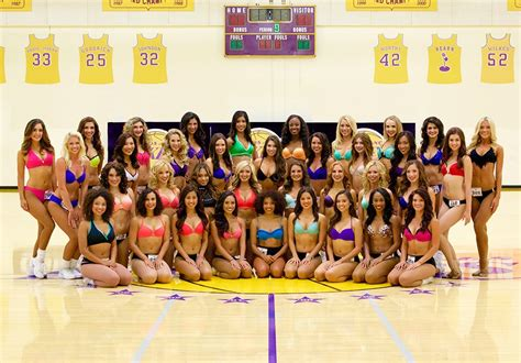 laker girls   audition finalists los angeles lakers