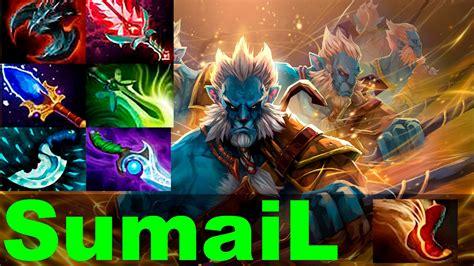 sumail phantom lancer 7 02 best item build pro gameplay highlights dota 2 2017 youtube