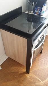Meuble Plaque Cuisson : meuble pour plaque cuisson ~ Teatrodelosmanantiales.com Idées de Décoration