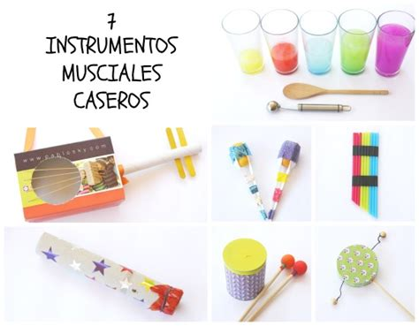 manualidad instrumentos musicales caseros club peques lectores cuentos y creatividad infantil