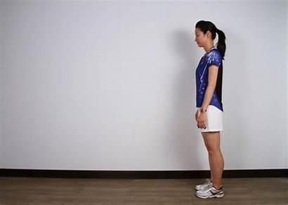 Estiramiento Badminton Muscular Ejercicios Warm Quadriceps Stretching