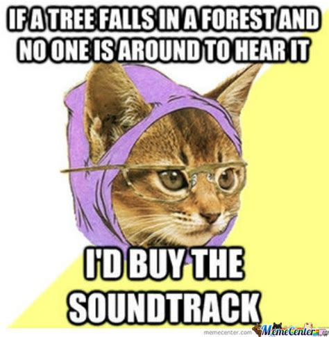 Hipster Kitty Meme - hipster cat by qwertytreqz meme center