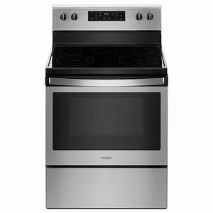 Whirlpool 5 3 Cu  Ft  Freestanding Electric Range With