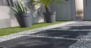 pas japonais pour amenager une allee deco dans le jardin With amenager une entree exterieure de maison 7 comment amenager un jardin zen deco cool