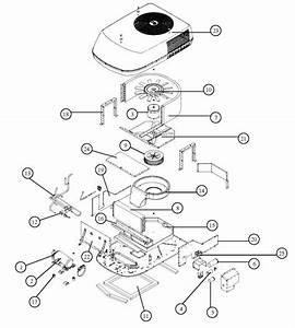 Coleman Mach 8 Blower Wheel