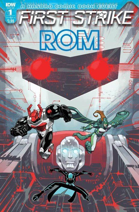 ROM: First Strike 1 (IDW Publishing) - ComicBookRealm.com