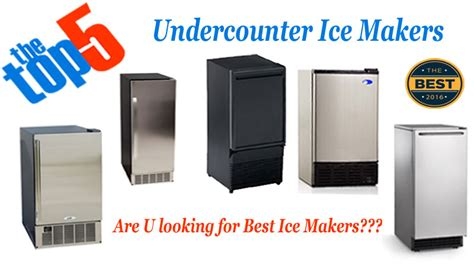 5 Best Undercounter Ice Maker 2018 Reviews  Compare Top 5