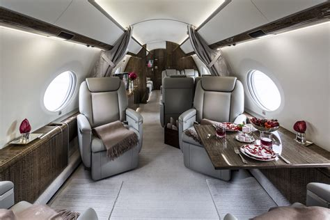 Interior : Gulfstream G650 Our 2017 Business Jet Featuring A Full