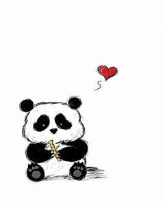 Baby Panda Drawings - ClipArt Best
