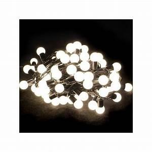 Guirlande Lumineuse Blanche : guirlande lumineuse ext rieure led blanche facile ~ Melissatoandfro.com Idées de Décoration