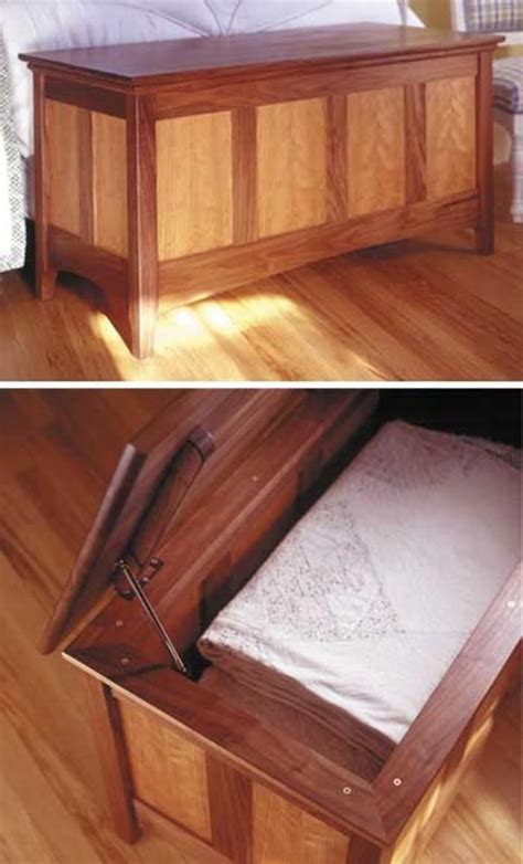 heirloom hope chest woodworking plan  wood magazine