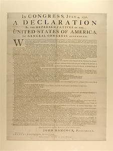 Declaration of independence image for From documents of american history