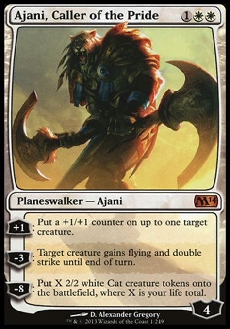 ajani mentor of heroes deck 2015 list of planeswalker cards in magic the gathering