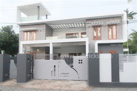 villa fence designs architects in kollam
