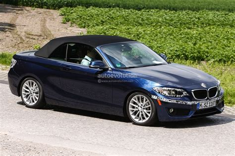 Bmw 2 Series Convertible Spied Virtually Undisguised