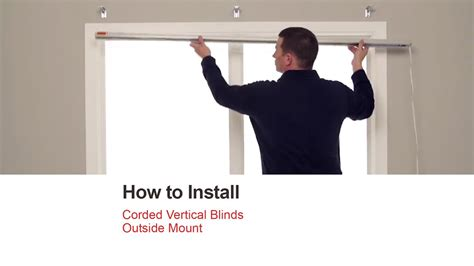 Bali Blinds  How To Install Corded Vertical Blinds