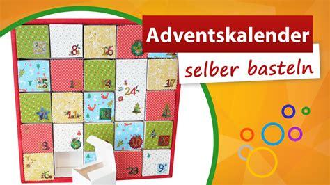 adventskalender zum selber basteln weihnachtskalender bastelidee trendmarkt youtube