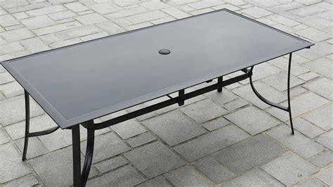 Table Jardin Alu Verre by Salon De Jardin Aluminium Et Verre 8 Personnes