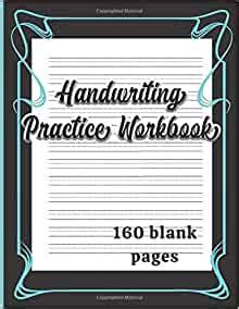 handwriting practice workbook dotted lined writing paper