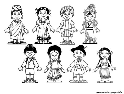 Diversity Kids From Around The World Multicultural Kids