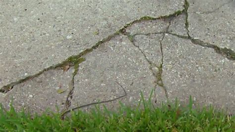 importance of repairing cracks in a concrete driveway